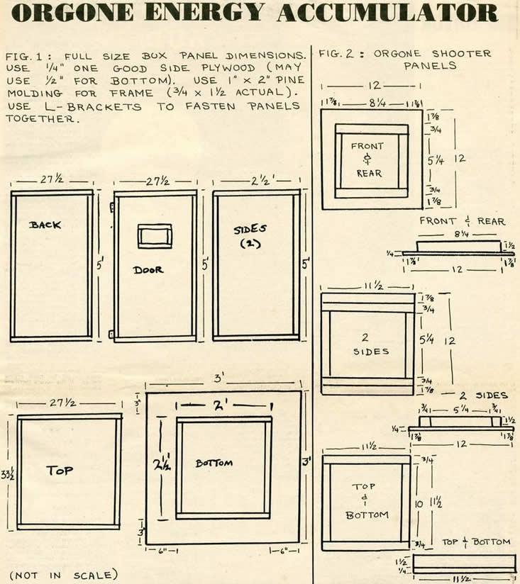 o que é Caixa orgonica para que serve, como funciona e preço caixa orgônica
